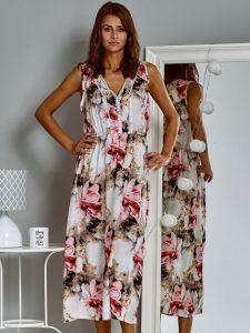 letnie sukienki w kwiaty