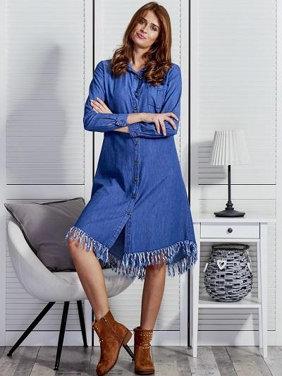 Sukienki jeansowe: na jakie modele postawić?