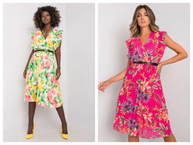 Sukienki w kwiaty – przegląd modeli