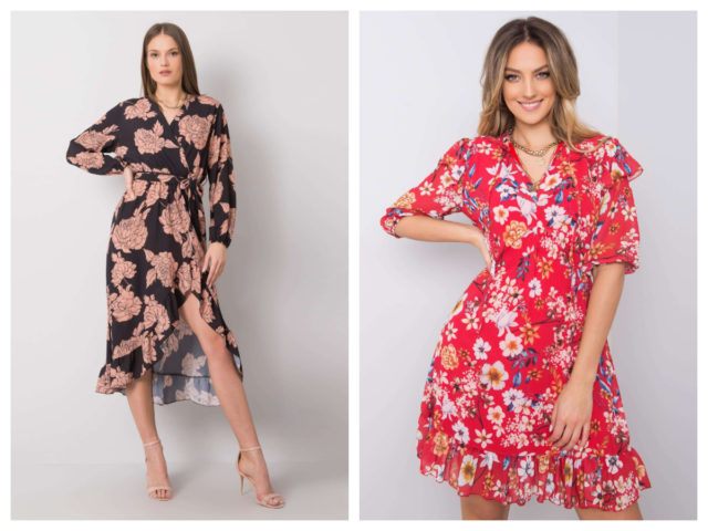Sukienki w kwiaty jesienią – jak nosić?
